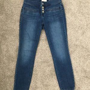 0P 4-button Loft jeans - worn once